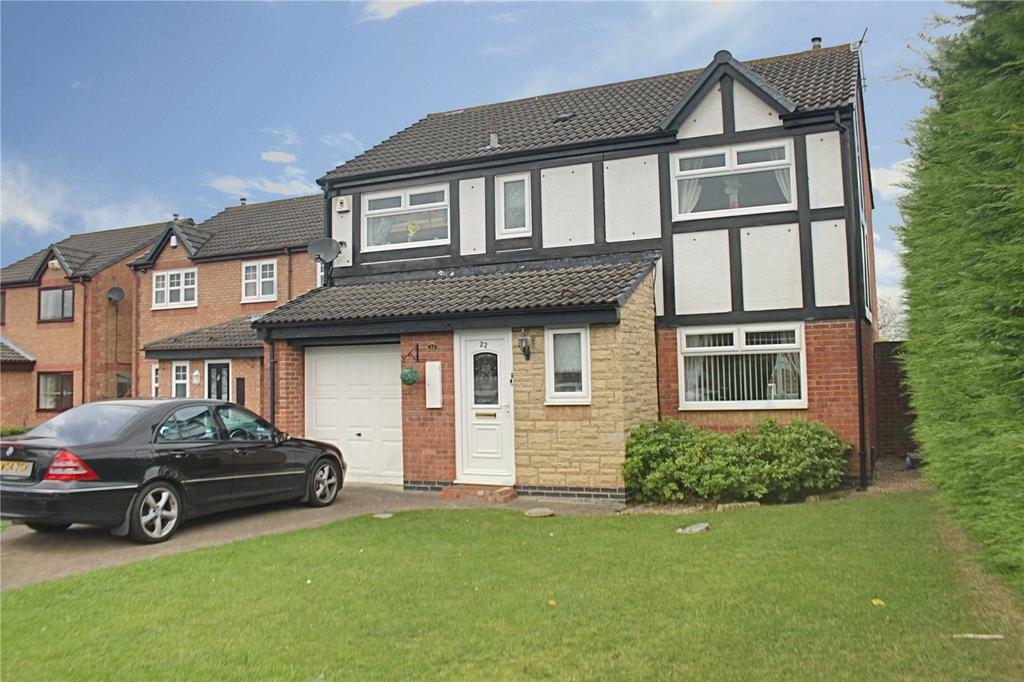 4 Bedrooms Detached House for sale in Cragside Court, Ingleby Barwick