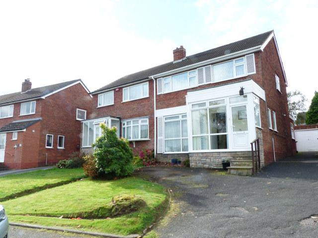 3 Bedrooms Semi Detached House for sale in Bankside Crescent,Streetly,Sutton Coldfield