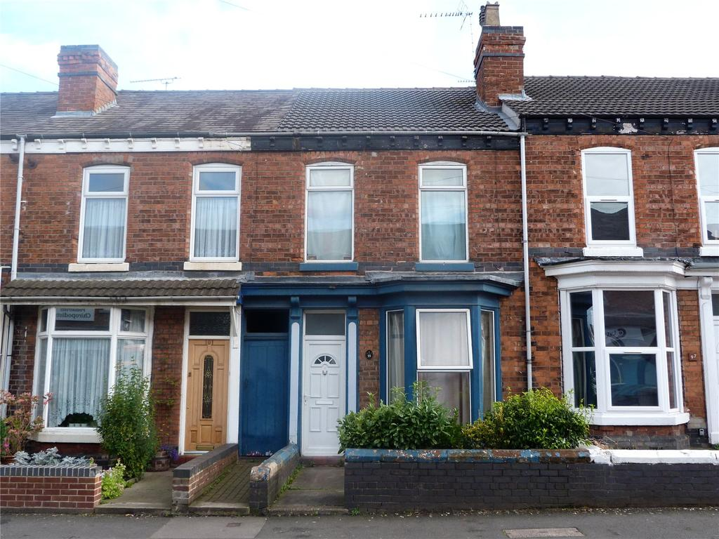 3 Bedrooms Terraced House for sale in Edleston Road, Crewe, Cheshire, CW2