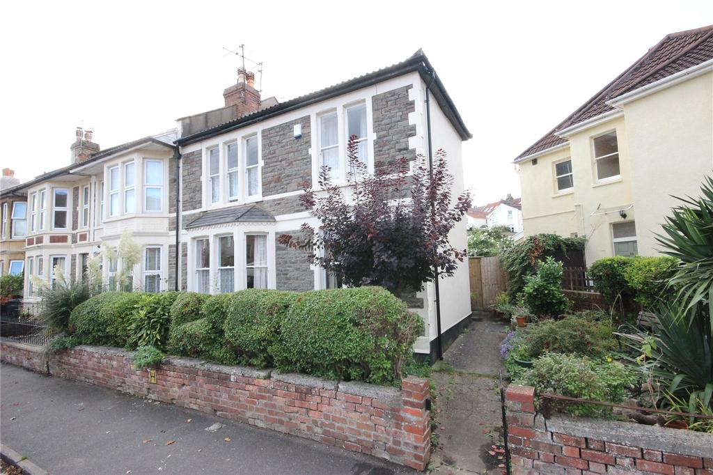3 Bedrooms End Of Terrace House for sale in Cairns Road, Westbury Park, Bristol, BS6