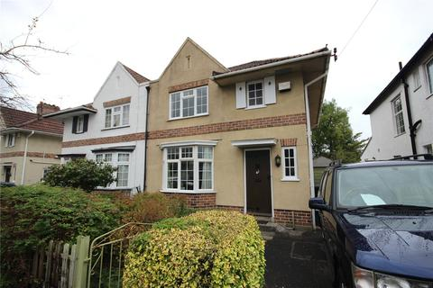 3 bedroom semi-detached house for sale - Lake Road, Henleaze, Bristol, BS10