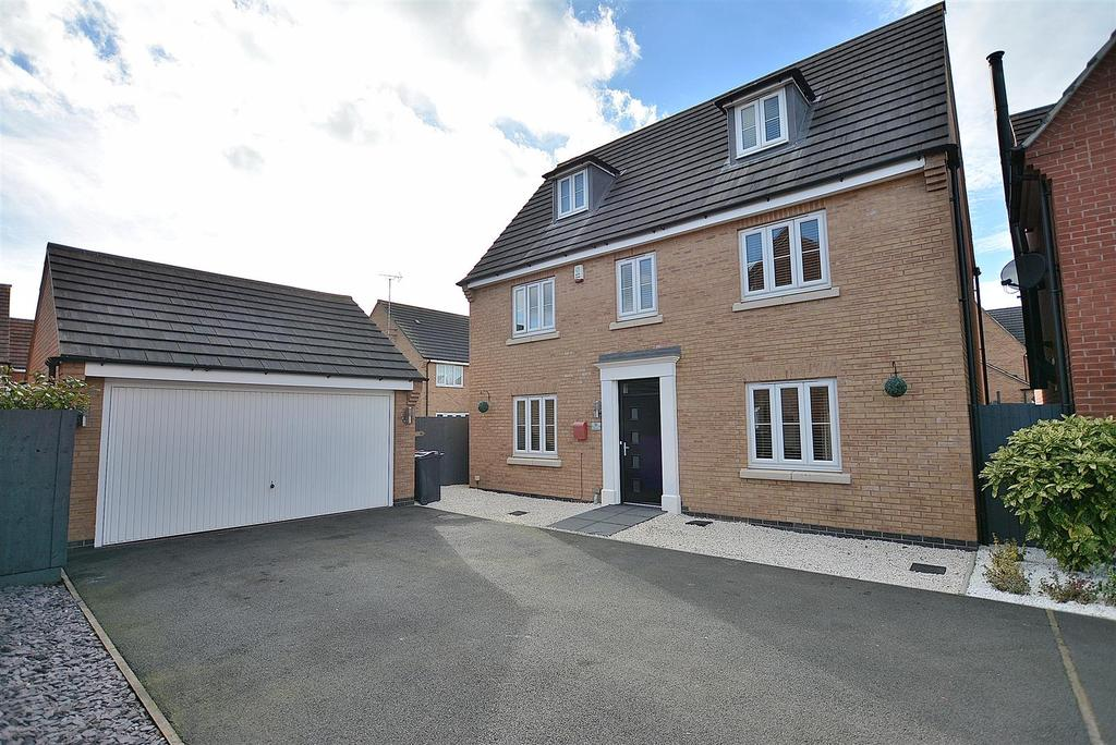 5 Bedrooms Detached House for sale in Harebell Close, Kirkby-in-Ashfield