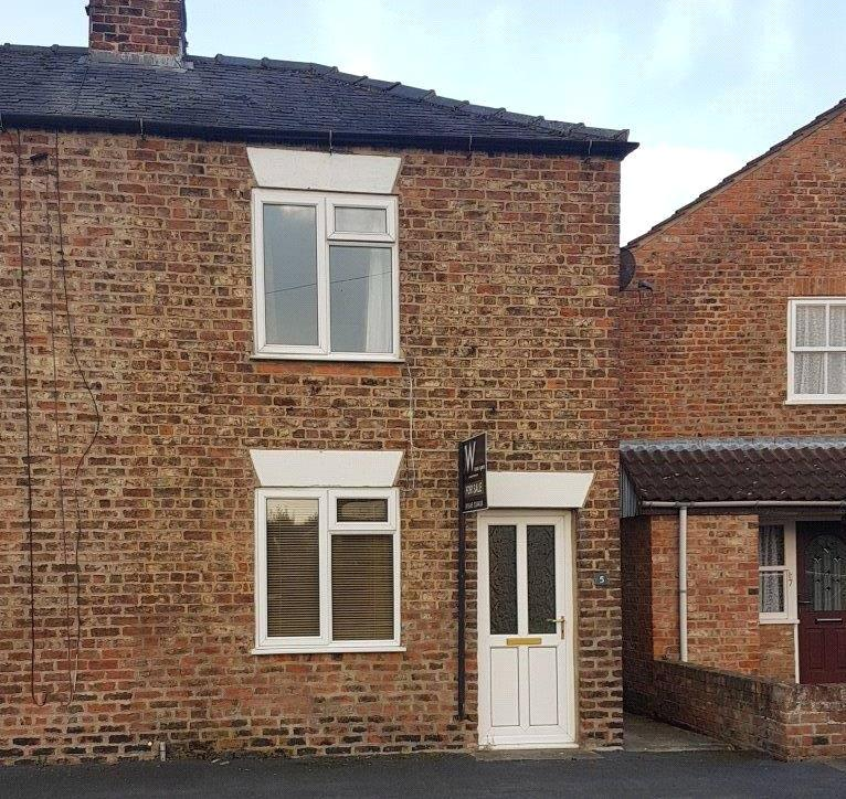 2 Bedrooms End Of Terrace House for sale in Front Street, Sowerby, Thirsk