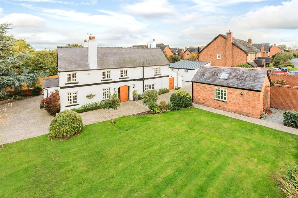 4 Bedrooms Detached House for sale in Francis Lane, Holt, Wrexham, Clwyd