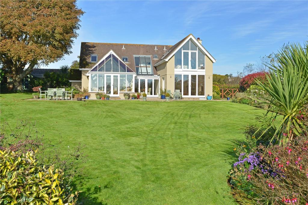 4 Bedrooms Detached House for sale in Redlap Lane, Stoke Fleming, Dartmouth, Devon, TQ6