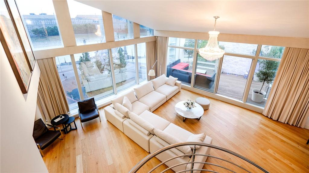 5 Bedrooms Penthouse Flat for sale in Parliament View Apartments, 1 Albert Embankment, South Bank, London, SE1