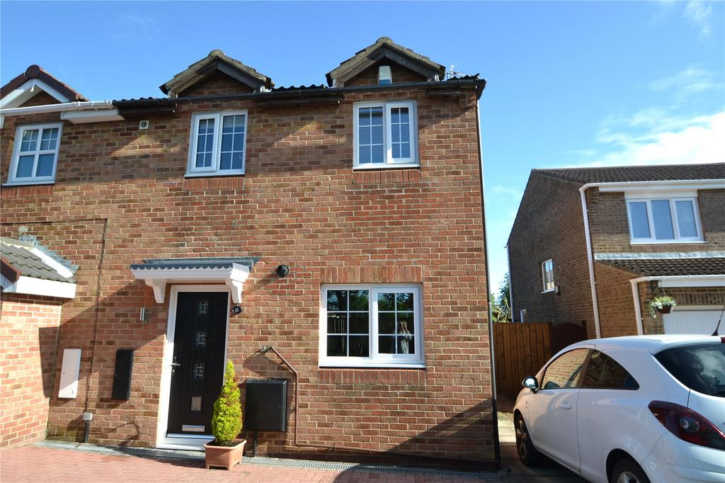 2 Bedrooms Semi Detached House for sale in Brougham Court, Peterlee, Co.Durham, SR8