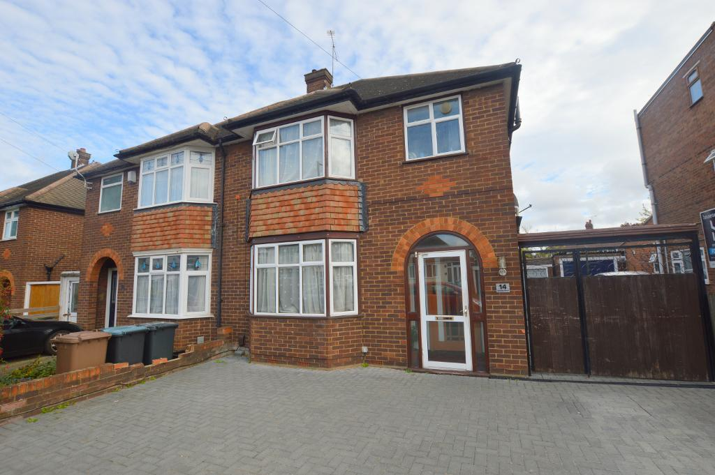 3 Bedrooms Semi Detached House for sale in Granby Road, Luton, Bedfordshire, LU4 9SZ