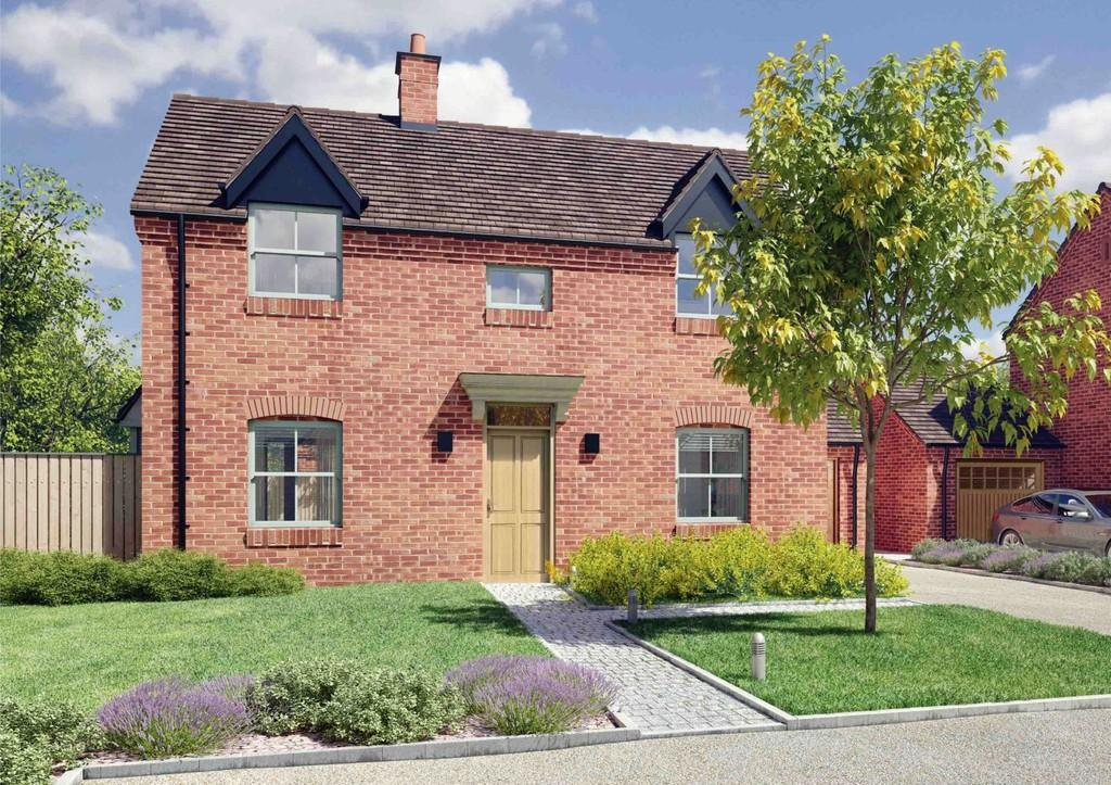 3 Bedrooms Detached House for sale in The Cottage Plot 1 Feckenham Gardens