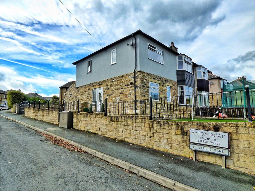 5 Bedrooms Semi Detached House for sale in Stoney Lane, Longwood, Huddersfield, HD3