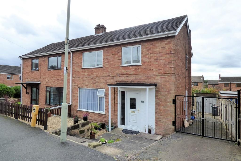 3 Bedrooms Semi Detached House for sale in Mease Close, Measham