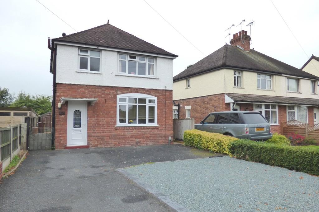 3 Bedrooms Detached House for sale in Eccleshall Road, Stafford