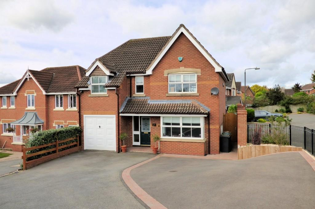 4 Bedrooms Detached House for sale in Breadsall Close, Newhall