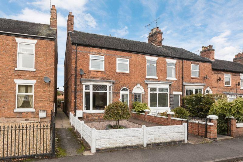 3 Bedrooms End Of Terrace House for sale in South Crofts, Nantwich