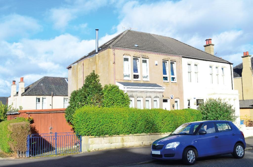 3 Bedrooms Semi Detached House for sale in Balcarres Avenue, Kelvindale, Glasgow, G12 0QR