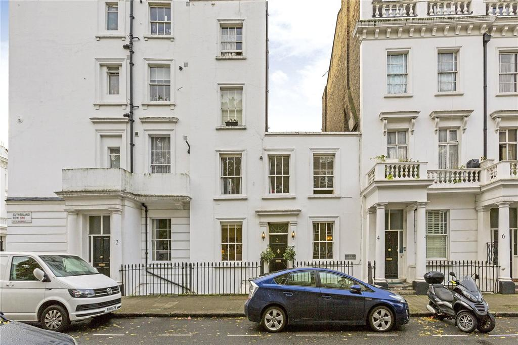 3 Bedrooms Terraced House for sale in Sutherland Row, London, SW1V