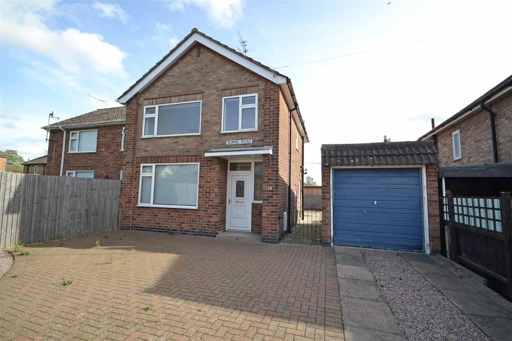 3 Bedrooms Semi Detached House for sale in Burns Road, Stamford