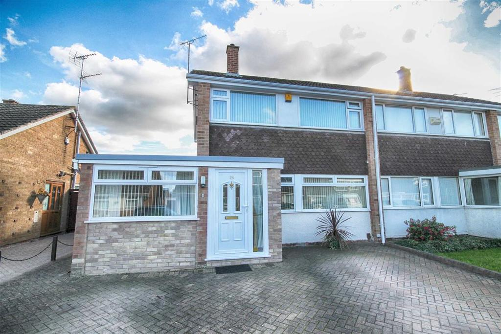 3 Bedrooms Semi Detached House for sale in Pembroke Road, Hatherley, Cheltenham, GL51