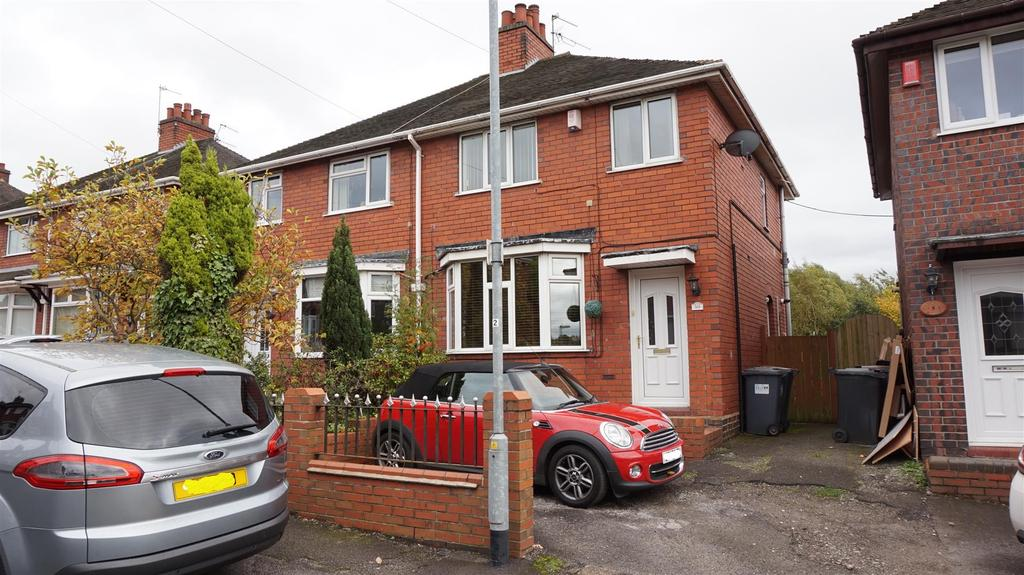 3 Bedrooms Semi Detached House for sale in Leech Avenue, Chesterton, Newcastle, Staffs