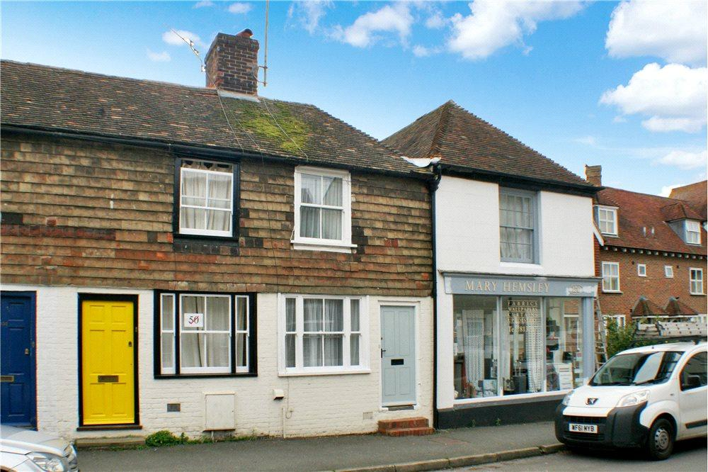 2 Bedrooms Terraced House for sale in Bridge Street, Wye, Ashford, Kent