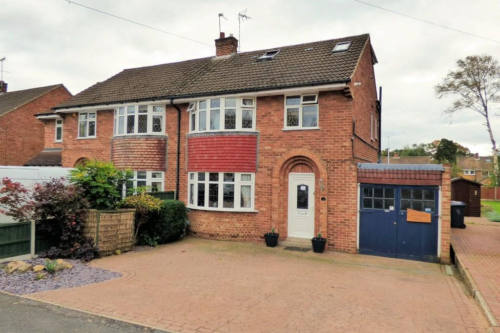 3 Bedrooms Semi Detached House for sale in The Lawns, Rolleston-on-Dove