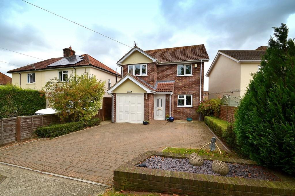 3 Bedrooms Detached House for sale in Highfields, Bentley, Ipswich, IP9 2BP
