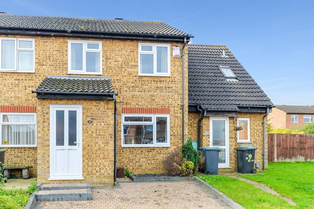 2 Bedrooms Terraced House for sale in Trent Avenue, Flitwick, Bedford, MK45