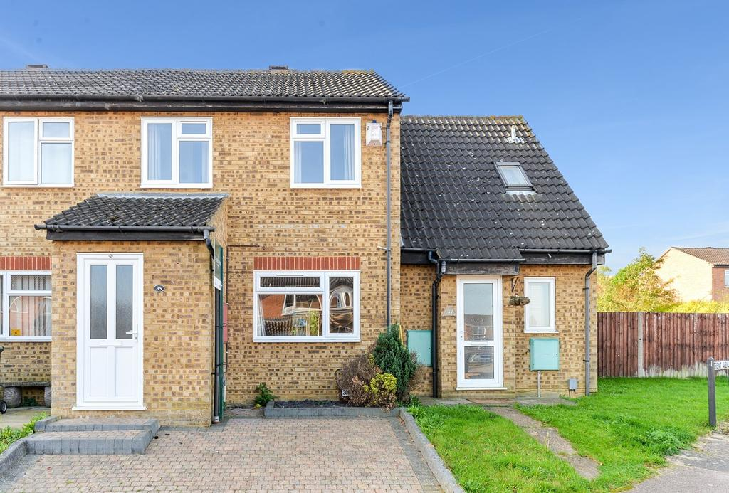 2 Bedrooms Terraced House for sale in Trent Avenue, Flitwick, MK45