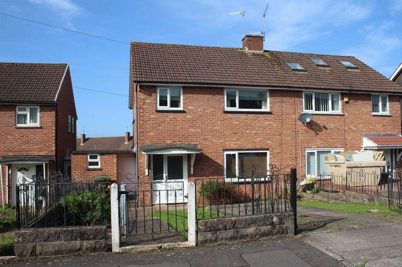 3 Bedrooms Semi Detached House for sale in Honiton Road, Llanrumney