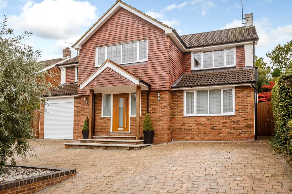 5 Bedrooms Detached House for sale in Ridgewood Drive, Harpenden, Hertfordshire