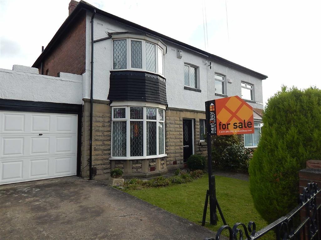 3 Bedrooms Semi Detached House for sale in Billy Mill Avenue, North Shields, Tyne And Wear, NE29