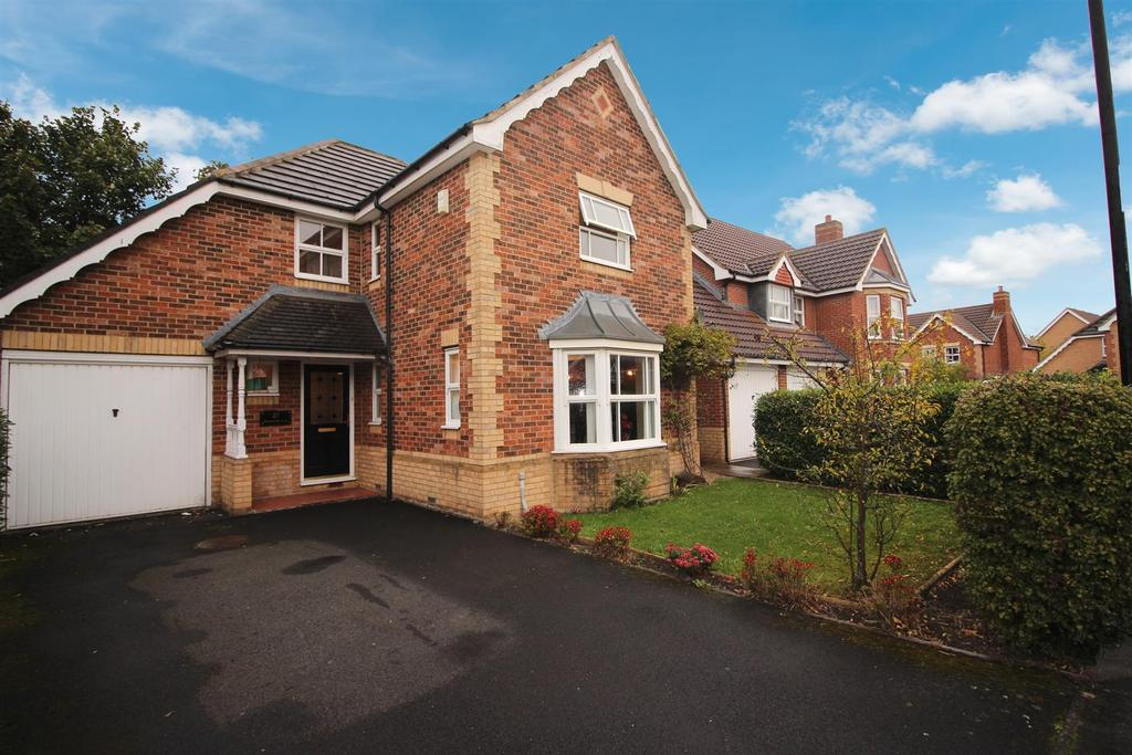 4 Bedrooms Detached House for sale in Nunwick Way, Haydon Grange, Newcastle Upon Tyne
