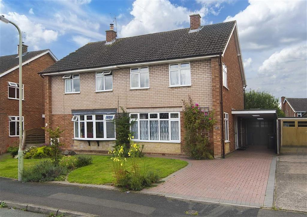 3 Bedrooms Semi Detached House for sale in 26, Cotswold Drive, Albrighton, Wolverhampton, Shropshire, WV7