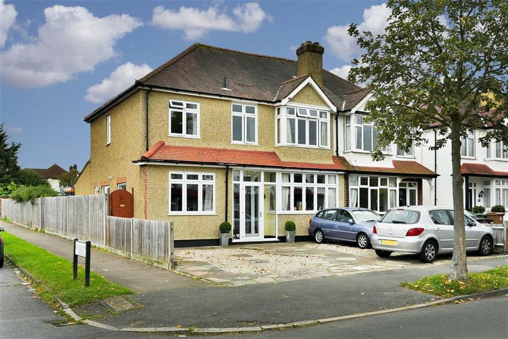 4 Bedrooms Semi Detached House for sale in Sparrow Farm Road, Stoneleigh, Surrey