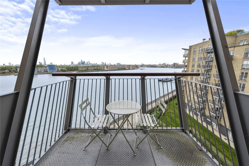 2 Bedrooms Flat for sale in Vanguard Building, Westferry Road, London, E14