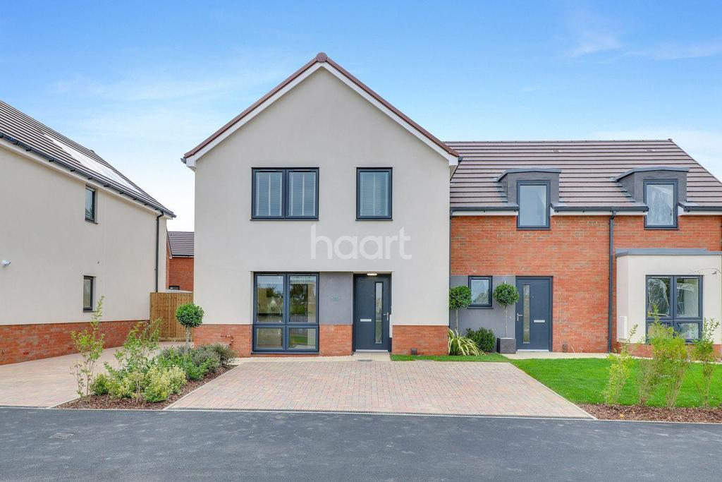 4 Bedrooms End Of Terrace House for sale in Somerton Gate