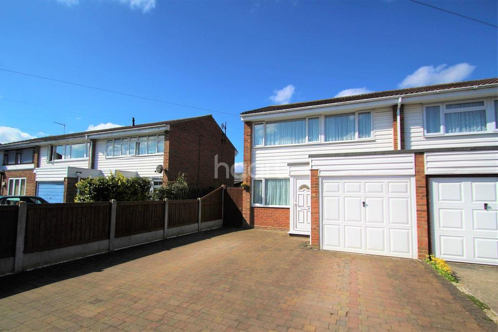 3 Bedrooms Semi Detached House for sale in Daniel Way, Silver End
