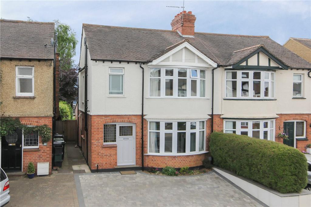 4 Bedrooms Semi Detached House for sale in Overstone Road, Harpenden, Hertfordshire