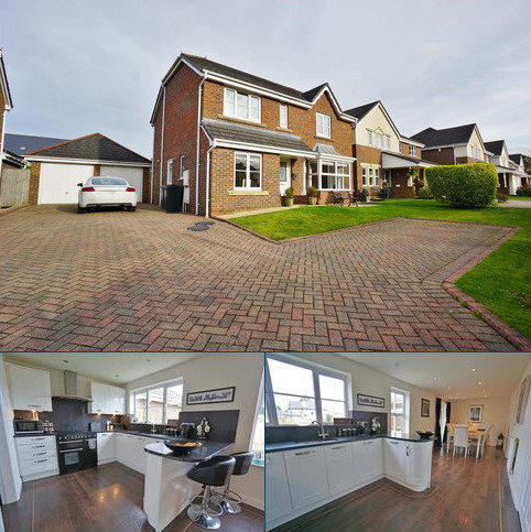 4 bedroom detached house for sale - Masefield Close, Brockhall Village