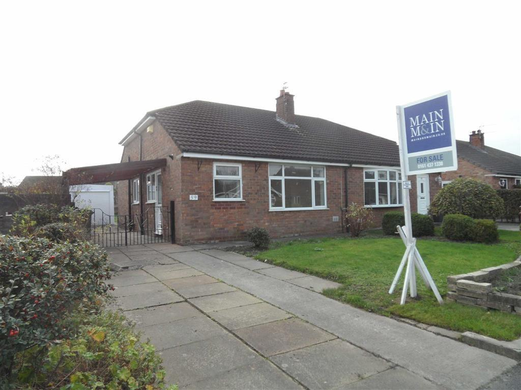 2 Bedrooms Semi Detached Bungalow for sale in Ashdale Drive, Heald Green