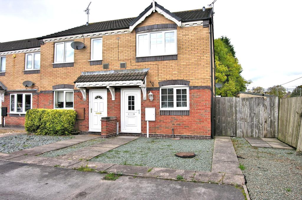 2 Bedrooms End Of Terrace House for sale in ASTORIA DRIVE, CROFTER WOOD, STAFFORD ST17