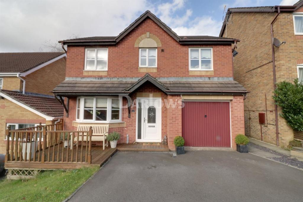4 Bedrooms Detached House for sale in Tansy Close, Penpedairheol