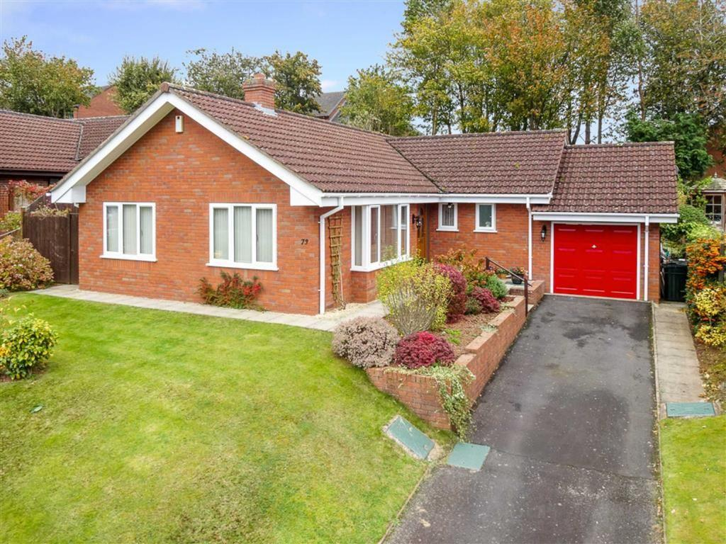3 Bedrooms Detached Bungalow for sale in Charlton Rise, Ludlow