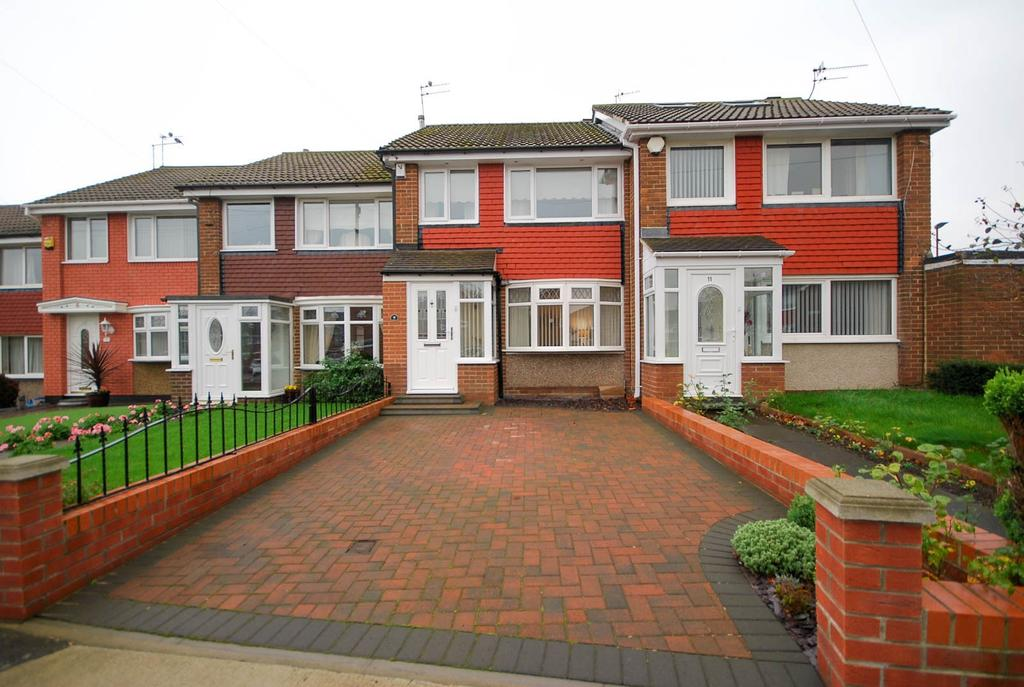 3 Bedrooms Terraced House for sale in Burscough Crescent, Fulwell