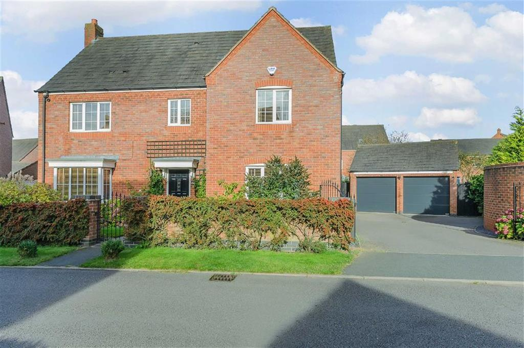 5 Bedrooms Detached House for sale in Newbold Close, Lichfield, Staffordshire