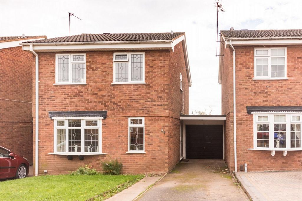 3 Bedrooms Link Detached House for sale in Francis Road, Lichfield, Staffordshire