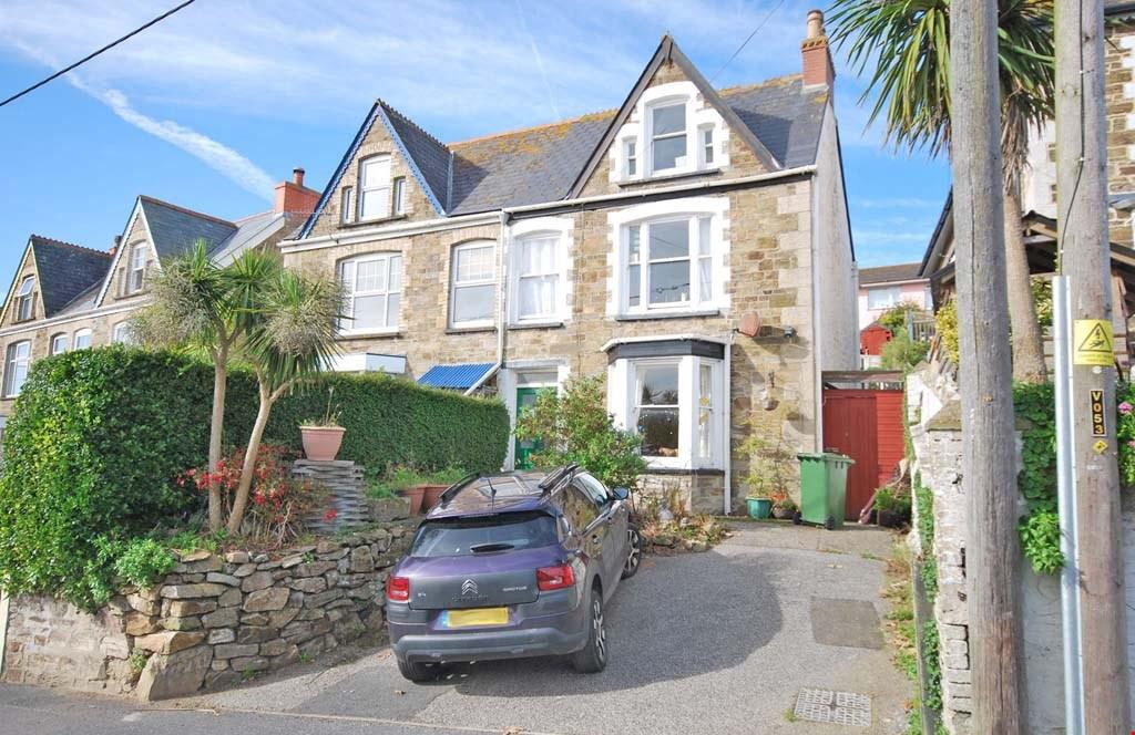 4 Bedrooms Semi Detached House for sale in Tywarnhayle Road, Perranporth, Cornwall, TR6
