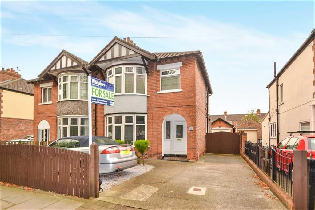 3 Bedrooms Semi Detached House for sale in Village Road, Garden Village, Hull, East Yorkshire, HU8