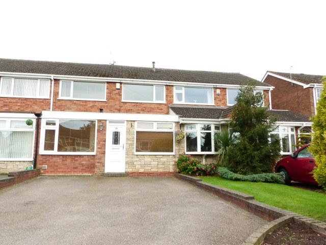 3 Bedrooms Terraced House for sale in Maxholm Road,Streetly,Sutton Coldfield