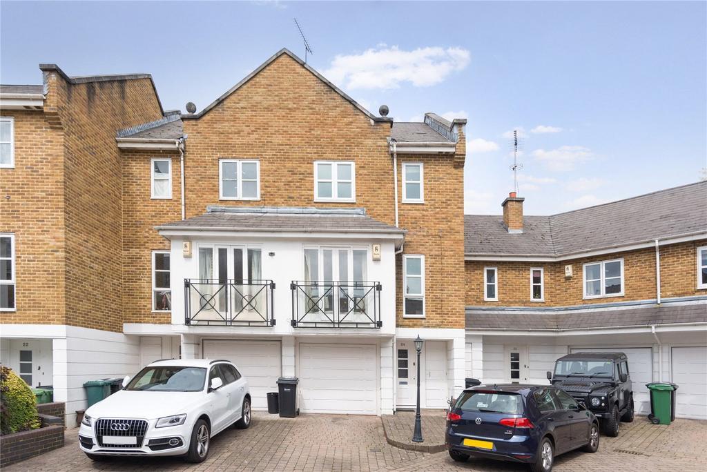 3 Bedrooms Terraced House for sale in Berridge Mews, West Hampstead, London